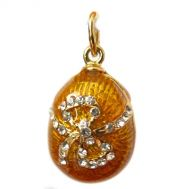 Faberge pendant Bow Gold Color, fig. 1