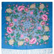 Shawl Colormania Royal Blue, fig. 1