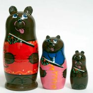 Matryoshka Bears, fig. 1