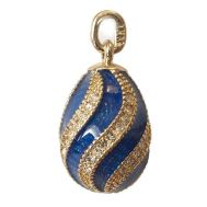 Pendant Twisted Deep Blue, fig. 1