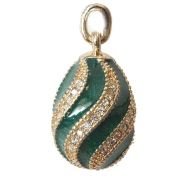 Pendant Twisted Green, fig. 1