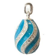Pendant Twisted Turquoise, fig. 1