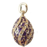 Pendant Twisted Style Violet, fig. 1