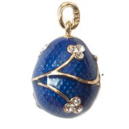 Pendant Twig with Flowers Blue, fig. 1