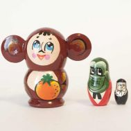 Cheburashka Matryoshka Doll, fig. 1