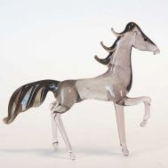 Brown Horse Glass Figurine, fig. 1