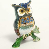 Faberge Box Little Owl, fig. 1