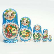 Matryoshka Doll Pensies