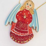 Ornament Angel in Red, fig. 1