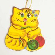 Figurine Yellow Cat