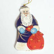 Figurine Santa in Blue