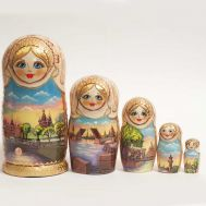 Matryoshka Saint-Petersburg Sights, fig. 1