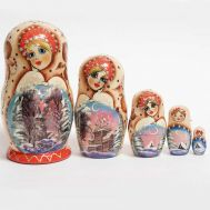Matryoshka Winter Scenes, fig. 1