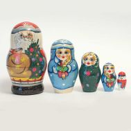 Russian Ded Moroz Matryoshka, fig. 1