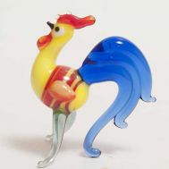 Funny Rooster Figurine