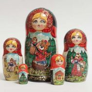 Russian Tale Masha and Bear