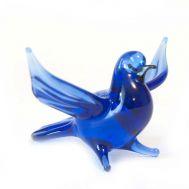 Glass Dove Figure