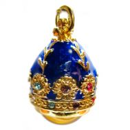 Pendant Amber with Blue, fig. 1
