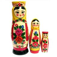 Nesting Doll Russian Beauties, fig. 1