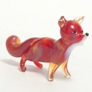Glass Figurine Fox, fig. 1