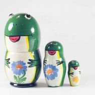 Nesting Doll Little Frogs, fig. 1