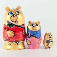 Matryoshka Family of Bear, fig. 1