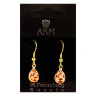 Faberge Earring Stars Red, fig. 1
