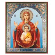 Icon the Sign (Znamenie), fig. 1