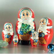 Santa Nesting Doll, fig. 1