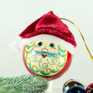 Santa Ball Ornament, fig. 1
