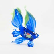 Blue Glass Fish Figure, fig. 1