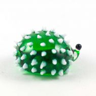 Glass Figurine Green Hedgehog, fig. 1