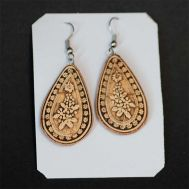 Birch Bark Earrings, fig. 1
