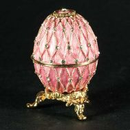 Openwork Net Pink Egg, fig. 1
