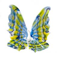 Glass Butterfly Blue and Yellow, fig. 1