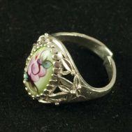 Enamel Ring Spring Green, fig. 1