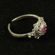 Enamel Ring Strawberries Pink, fig. 1