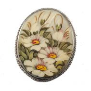 Mother of Pearl Brooch Daisies, fig. 1