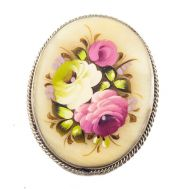 Brooch Red and White Roses, fig. 1