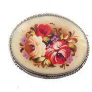 Brooch Fresh Roses, fig. 1