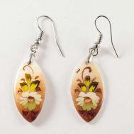 Earrings White Deasies, fig. 1