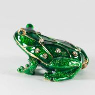 Faberge Style Green Frog, fig. 1