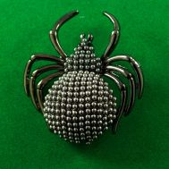 Faberge Style Brooch Spider, fig. 1