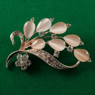 Faberge Style Brooch Twig, fig. 1