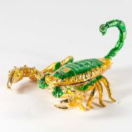 Faberger Jewelry Box Scorpion, fig. 1