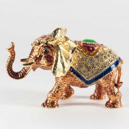Faberger Box Elephant, fig. 1