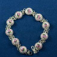 Bracelet Finift Beads Pink, fig. 1