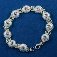 Bracelet Finift Beads Blue, fig. 1