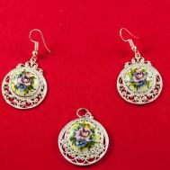 Finift Jewelry Set Basket, fig. 1