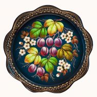 Zhostovo Tray Plums, fig. 1